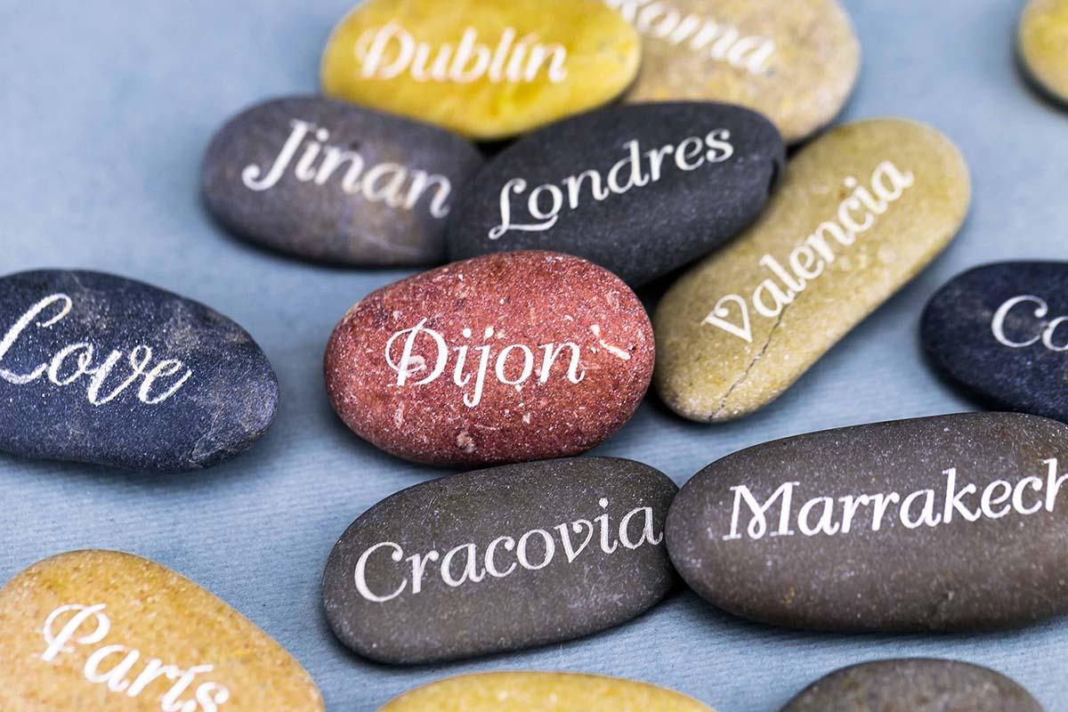 Piedras personalizadas a láser 1