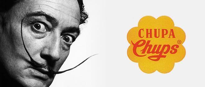 Chupa chups y Salvador Dalí