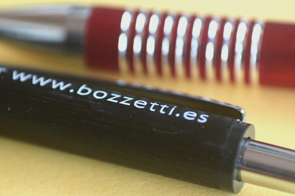 Bolígrafo personalizado por láser